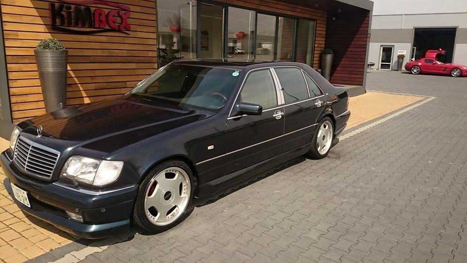 Mercedes benz s600l walden w140 39 98 kimbex dream cars for Mercedes benz s600l