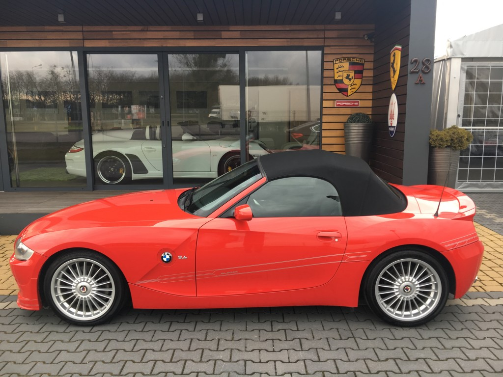 Alpina roadster s kimbex dream cars for Mercedes benz seat heater settlement