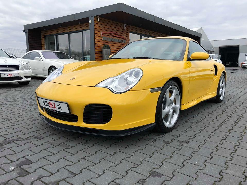 Porsche 996 Turbo *Yellow !